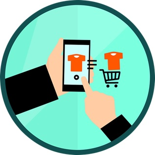 an-illustration-depicting-an-online-shopping-experience