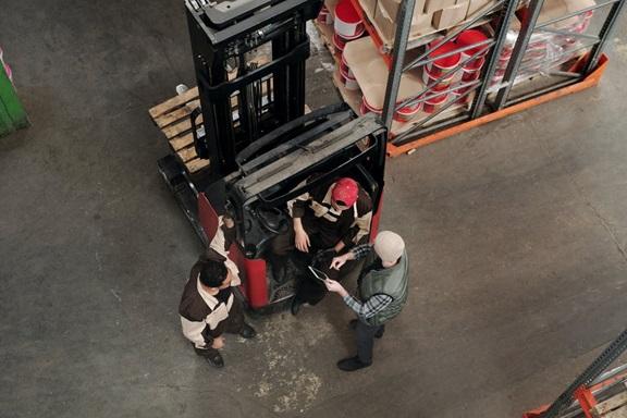 Forklift custom training programme